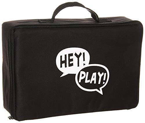 (Hey! Play! 80-ZS-GYY01 Giant Wooden yd Dice Outdoor Lawn Game, 6 Playing Dice with Carrying Case for Kids & Adults By)