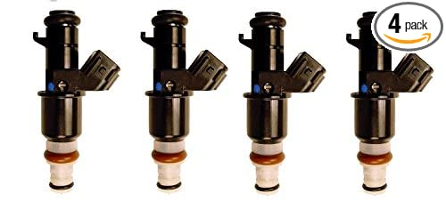 OEM Genuine 4x Rebuilt Fuel injectors for 2006-2011 Honda Civic 1.8L/Fit 1.5L (pack of 4) CAP