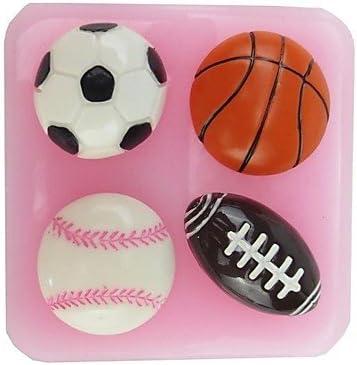 MU de balón de fútbol pelota de baloncesto diseño de forma de ...