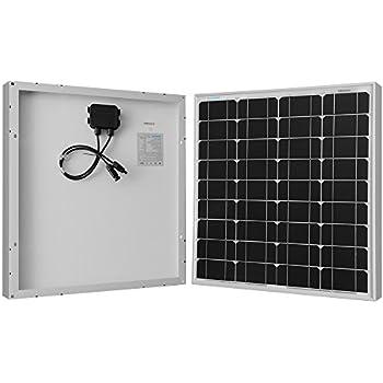 Renogy 50 Watts 12 Volts Monocrystalline Solar Panel