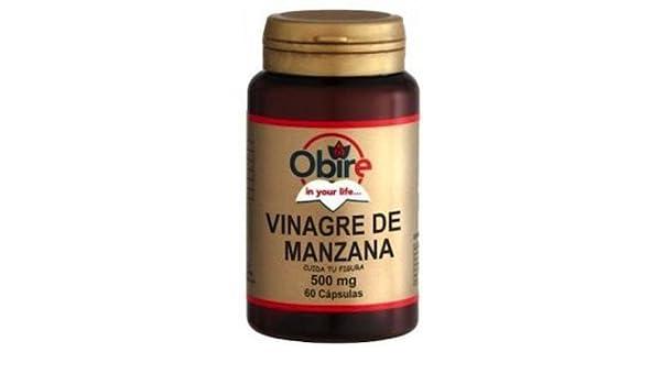 Vinagre de Manzana y Fucus 90 c‡psulas de Obire: Amazon.es: Salud y ...