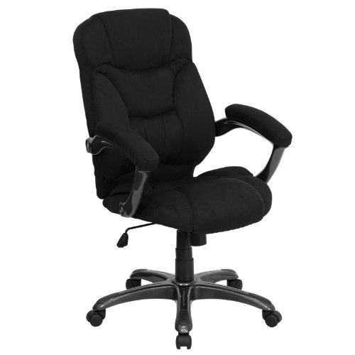 MFO High Back Black Microfiber Contemporary Executive Swivel Office Chair price