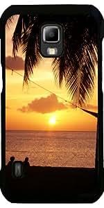 Funda para Samsung Galaxy S5 Active - Puesta Del Sol Con Las Palmeras by WonderfulDreamPicture