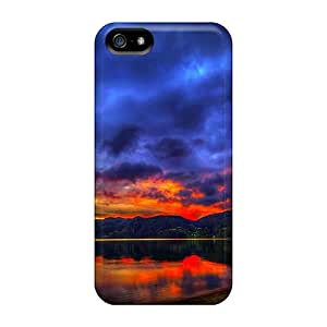 Ideal Cases Covers For Iphone 5/5s(lake At Sunset), Protective Stylish Cases