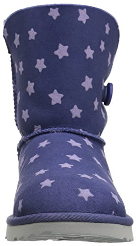 UGG Girls K Bailey Button II Stars Pull-On Boot, Nocturn, 1 M US Little Kid by UGG (Image #4)