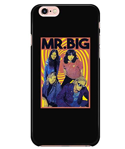 iPhone 7/7s/8 Case, American Hard Rock Supergroup Case for Apple iPhone 7/7s/8, Mr.Big Band iPhone Case (iPhone 7/7s/8 Case - Black)