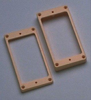 - Allparts PC-0745-028 Humbucking Pickup Rings Non-slanted Cream