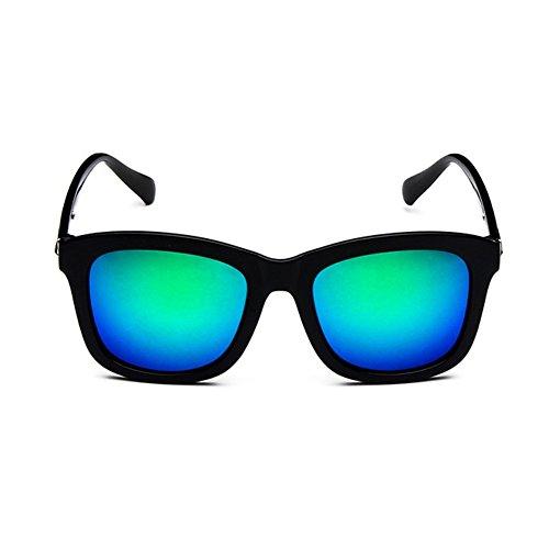 p De 53mm Reflective Unisex Color¨¦es Retro Soleil Z Green Uv400 Lunettes RYwOPOdq
