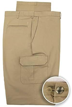 Haggar Big Amp Tall Men S Expandable Waist Cargo Pants