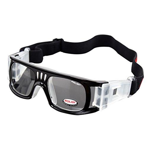 BasketballFootball-Goggles-Outdoor-Sports-Sunglasses-for-Men-Women-Youth-Baseball-Cycling-Running-Driving-Fishing-Golf-UV400-Protection-over-Myopia-Glasses-BLACK