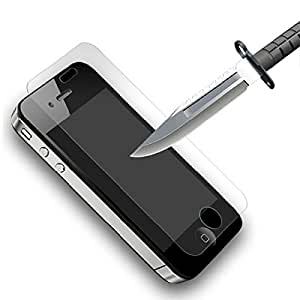 iPhone 4 4S Plus Topgadgetsuk a prueba de golpes Protector de pantalla, vidrio templado película protectora, HD anti-Fngerprint móvil