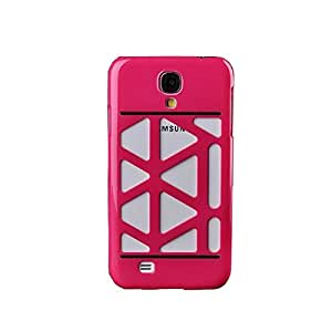 2014 New Fashion Luxury Hollow Design Case Cover Skin for Samsung Galaxy S4 I9500 (rose)