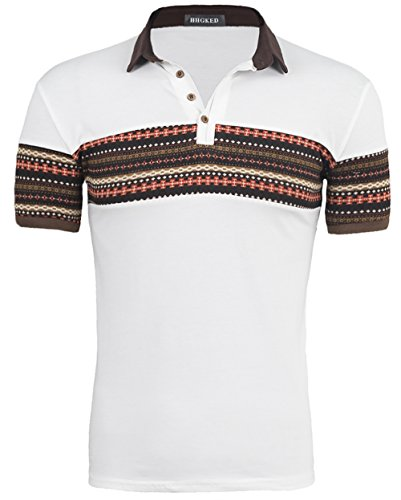 retro print short sleeve t shirts