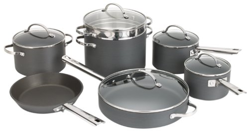 Anolon Professional Hard Anodized Nonstick 12-Piece Cookware
