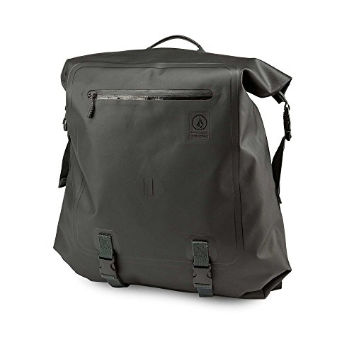 Volcom Men's Mod Tech Waterproof Dry Backpack Bag, black Combo, One Size
