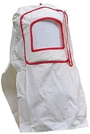 Masque Cagoule Visiere Blanc de Protection de Sablage  Amazon.fr ... 4dfc34faf9f3