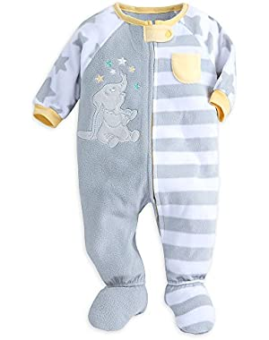 Dumbo Blanket Sleeper for Baby Gray