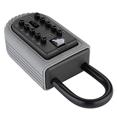 Storage Box Keys Safe Combination Lock Mainly Used Outdoors Suitable For Office, Home Of Keys, Etc Easy To Remember And More Secure