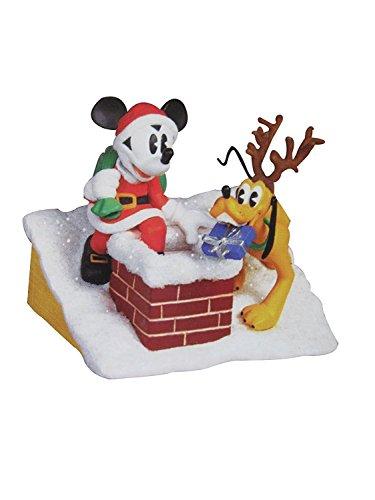 2005 Chimney (Hallmark Keepsake Ornament - Disney's Santa's Helpers Mickey and Pluto 2005 (QXD4012))