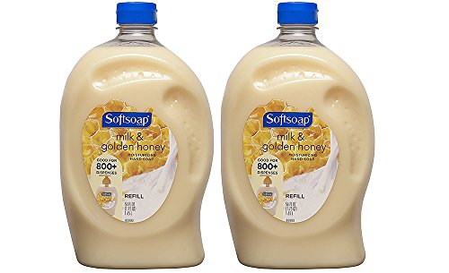 Top softsoap refill milk and golden honey for 2020