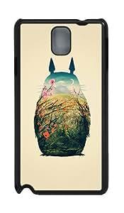 IMARTCASE Samsung Galaxy Note 3 Case, Totoro Art Print PC Black Hard Case Cover for Samsung Galaxy Note 3 N9000