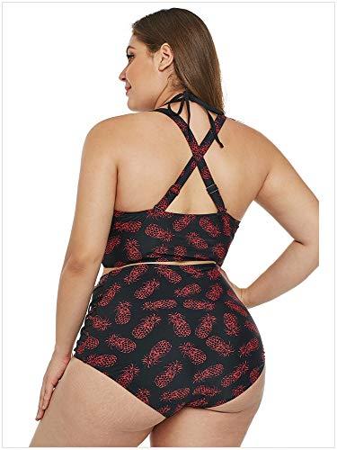 Stampati Sexy Motivi Taglio Bagno Vita Pineapple Per Hinyyee Alta A Patterns Pezzi Con Donne Due Bikini Basso Da Signora Costumi wqB6P