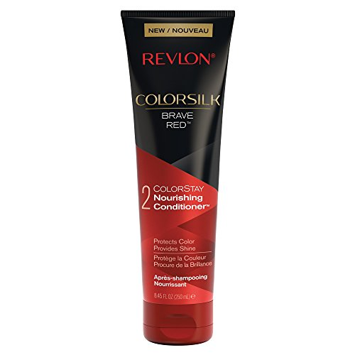 Revlon ColorSilk Care Conditioner, Red, 8.45 Fluid ()