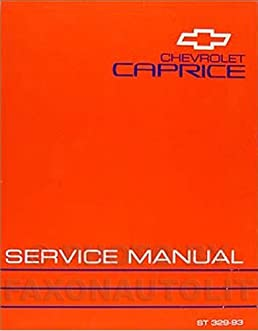 1993 chevy caprice classic repair shop manual original chevrolet rh amazon com 1996 Chevy Caprice Classic Parts 1993 Chevy Corsica