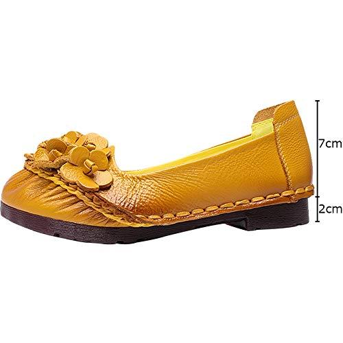 9d267b0f0ce3b0 Blume M Mokassins Vintage Frauen Handgemachte Schuhe Damen Wealsex  nq8gHtxCRw