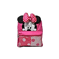 Disney Minnie Mouse Reversible Sequin Miniature Backpack