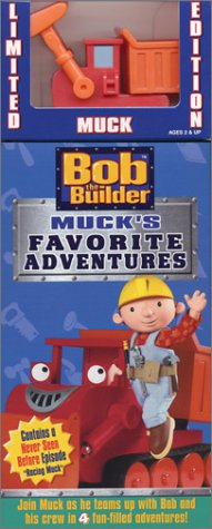 Bob the Builder - Muck's Favorite Adventures (with Toy) [VHS]