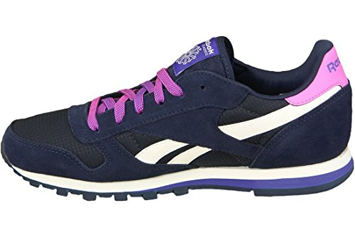 Ar2041 Baskets blue Leather Classic 001 Mixte Mehrfarbig Reebok Enfant qSn74tEAtw