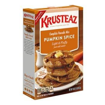 (Krusteaz Light & Fluffy Pumpkin Spice Complete Pancake Mix, 16 Ounce (Pack of 4))