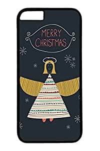 iPhone 6 Case, Personalized Unique Design Covers for iPhone 6 PC Black Case - Merry Christams The Angle