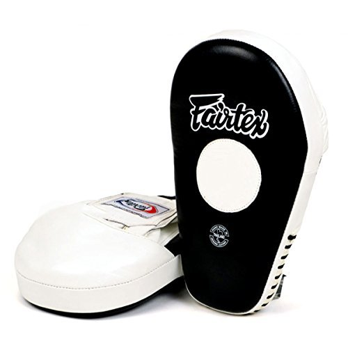 FMV8 Fairtex Pro Angular Focus Boxing Punch Mitts Muay Thai MMA Pads Equipment Thai Boxing Pads by Fairtex