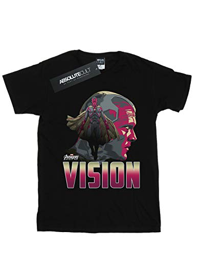 Avengers T Character Garçon Vision War Noir Infinity shirt CvrSH4C