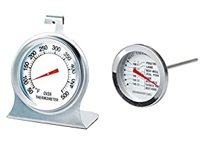Meat and Oven Thermometer Set