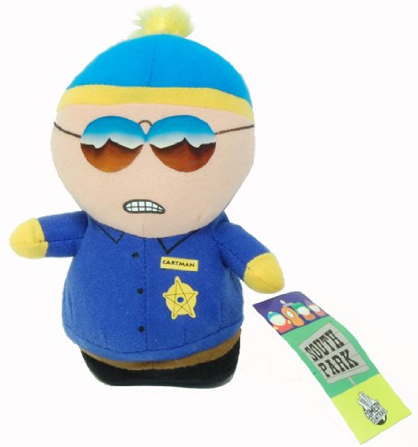 "South Park 7"" Plush Cartman Cop"