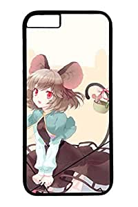 Anime Girls 4 Cute Hard Cover For iPhone 6 Plus Case ( 5.5 inch ) PC Black Cases by mcsharks