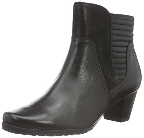 Caprice 25337, Botines para Mujer Negro (BLACK COMB 019)