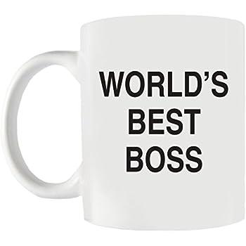 amazon com world s best boss funny coffee mug the perfect office
