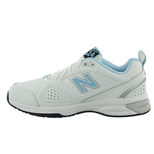 Wb4 Wx624wb4 Indoor 624 Balance New Chaussures Multisport Femme blue white Blanc v15Txw