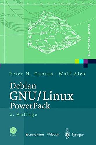 Debian GNU / Linux Power Pack mit 2 DVDs