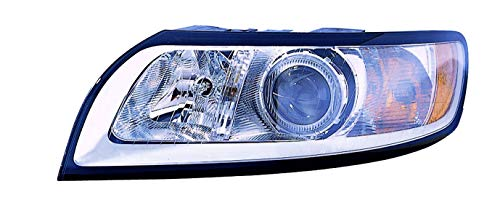 V40 Headlamp Assembly - For 2008 2009 2010 2011 Volvo S40 / V40 / V50 Headlight Headlamp Assembly Driver Left Side Replacement VO2502125