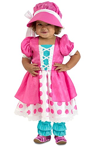 Princess Paradise Polka Dot Bo Peep Costume, 12 to 18 Months