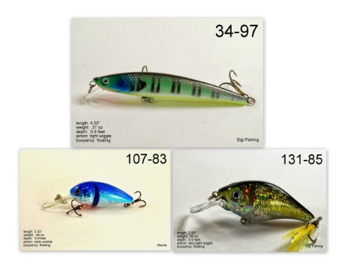 Akuna [MS] Pros' pick recommendation collection of lures for Bass, Panfish, Trout, Pike and Walleye fishing in Mississippi(Bass - Bass Pro Mississippi