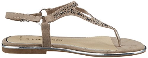 Marco Tozzi Women's 28108 Ankle Strap Sandals, Beige, 4 UK Beige (Taupe 341)