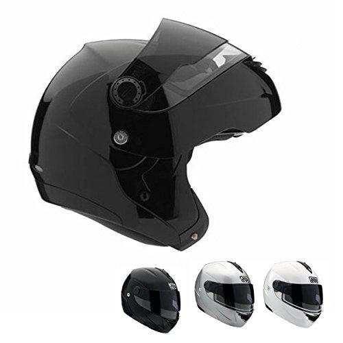 2013 AGV Miglia Modular 2 Motorcycle Helmets - FL-BK MD