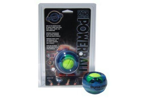 Dynaflex Powerball Lighted Gyro Wrist Exerciser (Blue)