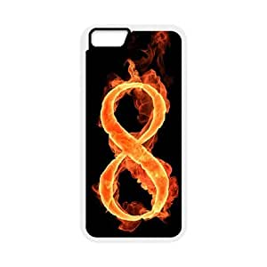 iPhone 6,6S 4.7 Inch Phone Case With Flame Digital S2G22952